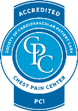 Accredited Society of Cardiovascular Patient Care Chest Pain Center PCI