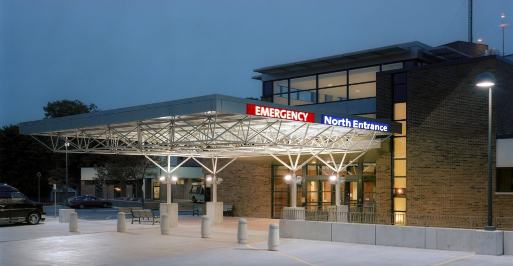 FMC North Emergency Entrance