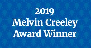 2019 Melvin Creeley Award Winner