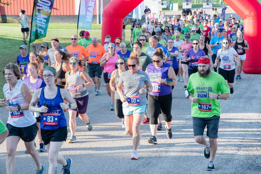 2019 Heart and Lung Run runners