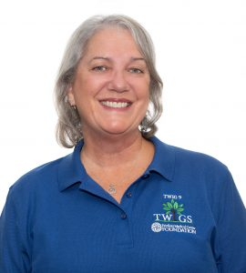 Deb Nixon, TWIG 9, InterTWIG representative and InterTWIG 1st Vice President