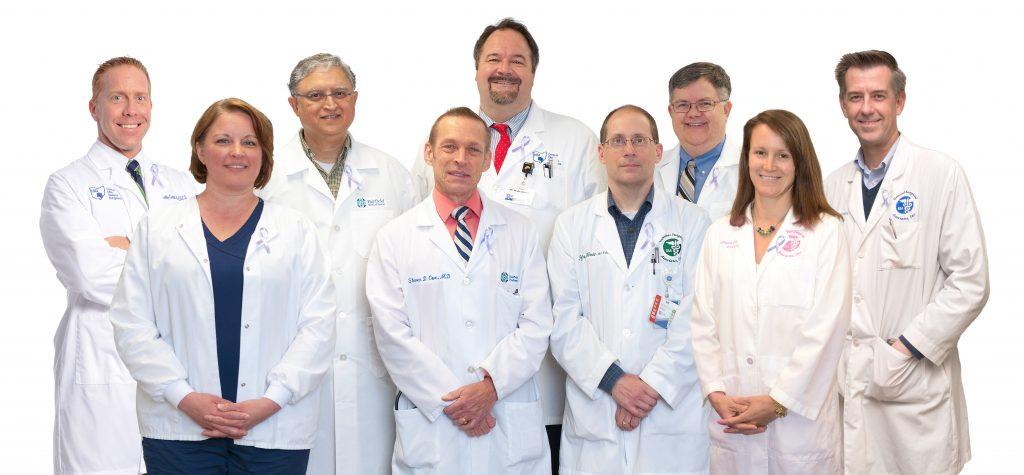 The Fairfield Medical Center Heartburn Center team
