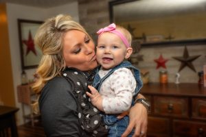 FMC Patient Nikki Griffin and Baby