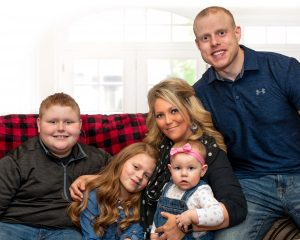 Nikki Griffin and Family