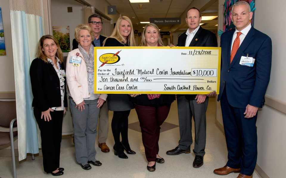 South Central Power FMC Foundation donation