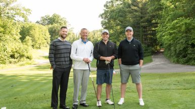 golfers at the FMC Foundation Golf Outing