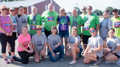 Heart and lung run organizers