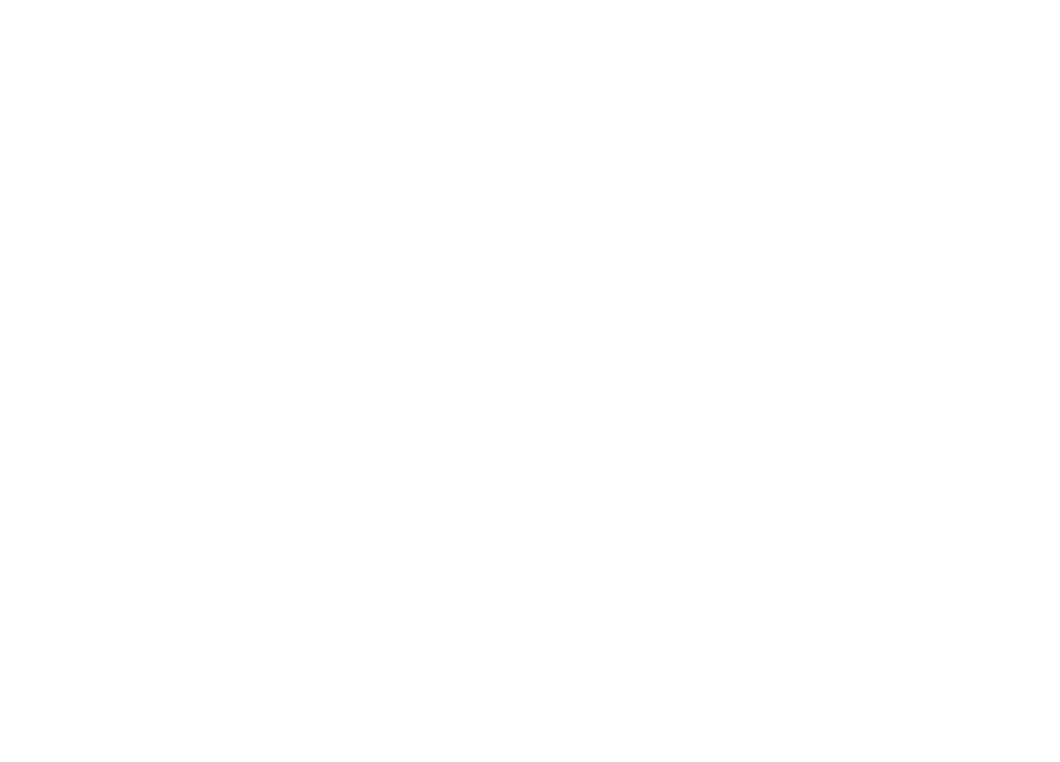 White clip-art of two hands with hearts hovering over them