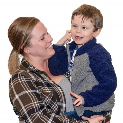 Josh-Claybourn-Speech-Therapy-and-mom