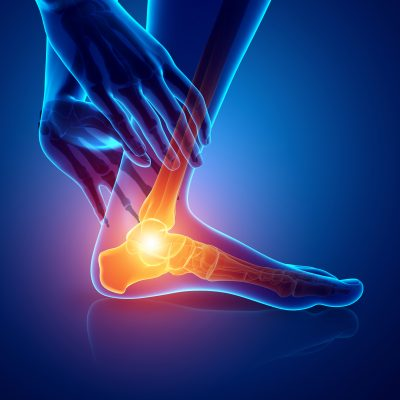 foot and ankle pain illustration