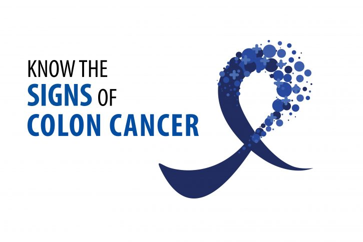 Know the signs of colon cancer